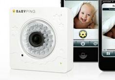 Wireless Baby Monitor Controlled By Your iPhone or iPad...BabyPing