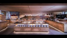 DI Daniel Kotrasch – Your architect and joiner in Schladming Dachstein regionHotel Matschner - buffet design