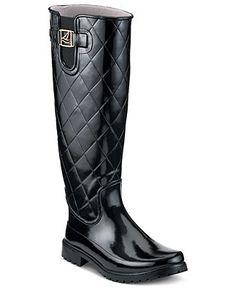 Sperry Top-Sider Women's Pelican Tall Rain Boots - Winter & Rain Boots - Shoes - Macy's