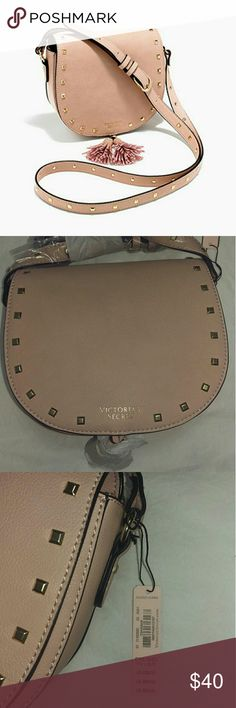 "Victoria's Secret Crossbody Crossbody:? 7""L x 2""W x 5.5"" H The color is like a nude pink Victoria's Secret Bags Crossbody Bags"