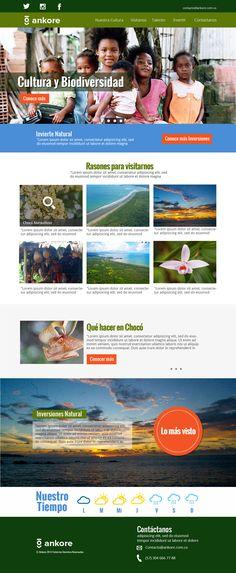 Main page ankore Main Page, Portfolio Web Design, Natural, Maine, Nature, Au Natural