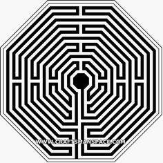 geometric vector square mandala - Google Search