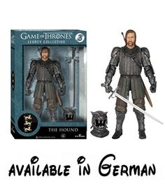 Game of Thrones - Legacy Collection Serie 1: Sandor 'The Hound' Clegane Action Figur, ca. 15 cm by GoT. Game of Thrones-Legacy Collection Serie 1: 'The Hound' Sandor Clegane Action Figur, ca. 15cm #Toy #TOYS_AND_GAMES