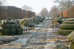 Wow! One of a kind garden: Highgrove, the home of Prince Charles and his wife Camilla. Gloucestshire's Highgrove Garden Landscape