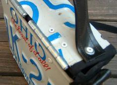 Tutorial: License Plate Purse - PURSES, BAGS, WALLETS