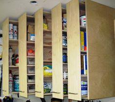 Building the shop - Slide out wall cabinet - by LeeInAZ @ LumberJocks.com ~ woodworking community