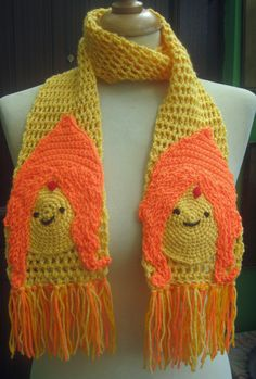 Adventure Time Flame Princess Inspired Crochet by twixtseaandpine, $28.00