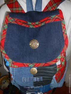 """Купить Рюкзак"""" Шотландская волынка """" - рюкзак, джинсовый рюкзак, пикник, поездка, дача"""
