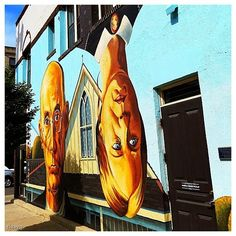 There are lots of murals in the Short North, do you have a favorite one?