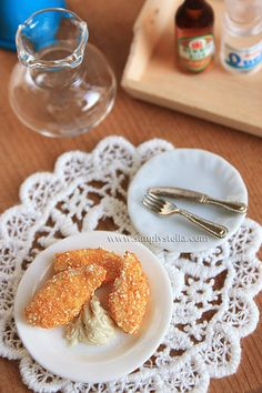 1:6 Chicken Fingers (+DIY tutorial!) by ~thinkpastel on deviantART
