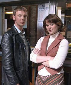 John Simm and Liz White in 'Life on Mars' - the original and the best!