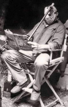 Friday The 13th behind the scenes...he he