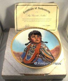 My Favorite Necklace Limited Edition Collectors Susie Morton Plate Box COA Mint