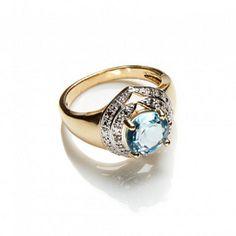 JESSICA®/MD Women's Genuine Diamond And Sapphire Ring | Sears Canada