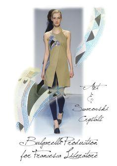 """""""Romana, 30 anni, Francesca Liberatore è la stilista che s'è aggiudicata il concorso fashion con il montepremi più alto al mondo:il Dhl Exported. Francesca Liberatore ha sbaragliato una concorrenza di 150 giovani stilisti provenienti da 36 paesi, ed è stata … [+]"""