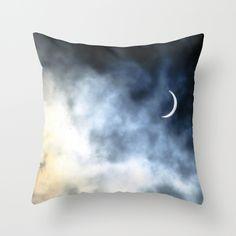 Eclipse 1999 Throw Pillow by alexandracummings