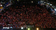 성주 촛불집회 (자료 사진)