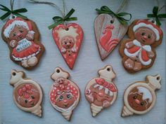Photo Iced Cookies, Royal Icing Cookies, Christmas Cookies, Christmas Treats, Christmas Baking, Christmas And New Year, Winter Christmas, Meringue Cookies, Biscuits
