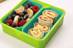 Sandwich spirals and fresh fruit, a great nut free lunch idea! For more creative ideas for kids lunches visit https://www.facebook.com/SchoolLunchIdeas you may find something you 'LIKE'
