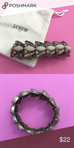 J. Crew Bracelet J crew bracelet. It stretches. Only worn a few times! J. Crew Jewelry Bracelets