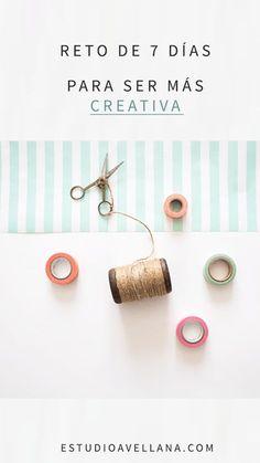Formas de buscar la creatividad - Inspiración en 7 días