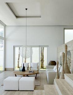 high ceiling. levels
