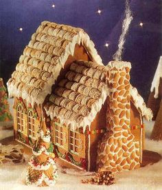 Fairytale Cottage--a gingerbread house how-to!