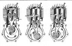 Puch-200, 1937-1938-?, 1-cyl. 2-pistons, 198cc,