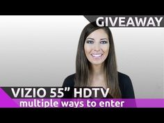 Win A New Vizio 55″ 4K Ultra Smart HDTV