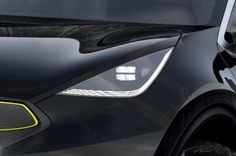 Kia Niro headlamp detail