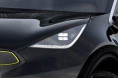 Kia Niro headlamp detail