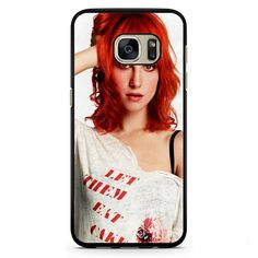 Paramore Haley Williams 5 Phonecase Cover Case For Samsung Galaxy S3 Samsung Galaxy S4 Samsung Galaxy S5 Samsung Galaxy S6 Samsung Galaxy S7
