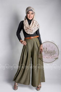 Hairstyle Kulot : Hijab Styles