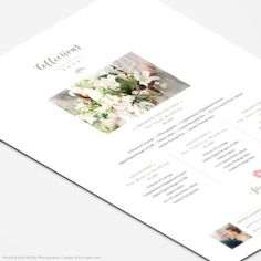 Photography Price List Template  Wedding Collections by FOTOVELLA