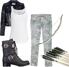 """""""Hunter of Artemis"""" by lauren2003 on Polyvore. I wore this the other day!"""