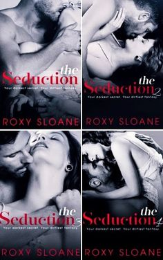 Românticos e Eróticos  Book: Roxy Sloane - The Seduction #1 a #4.5