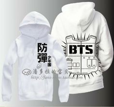 BTS bulletproof Cadet Bangtan Boys sweater / ARMY hoodie / BTS logo sweater A section $39.99