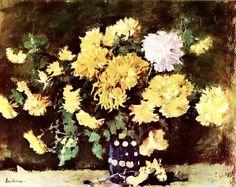 Stefan Luchian-Crizanteme galbene Thing 1, Still Life Art, Art Nouveau, Art Gallery, Mac, Fine Art, Plants, 1 Februarie, Bun Bun