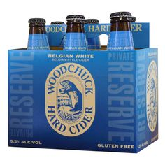 Tasty! Woodchuck® Hard Cider Private Reserve Belgian White - Specialty Cider ...
