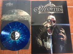 "Mortiis The Great Corrupter LP ""Swedish Erotica"" splatter vinyl. 99 copies made. Gates Of Hell, Hieronymus Bosch, Lp, Poster Prints, Purple, Artwork, Color, Design, Viola"