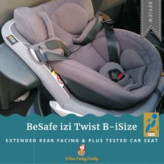 BeSafe izi Twist B-iSize review Extended Rear Facing, Rear Facing Car Seat, Save Life, News Blog, Baby Car Seats, About Me Blog, Posts, Children, Young Children