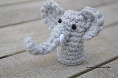 Toröööö! Hier kommt Fingerpüppchen Nummer 5 für Euch. Damit ist eine Hand spielbereit! Anleitung Fingerpüppchen Elefant