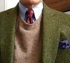 """A Trad """"What are you Wearing"""" - Page 1695 British Country Style, Mature Mens Fashion, Suit Combinations, Ivy League Style, Gentlemans Club, Sophisticated Dress, Tweed Jacket, Tweed Sport Coat, Country Fashion"""