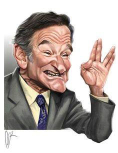 Robin williams - a caricature by marzio mariani works of art Robin Williams, Funny Caricatures, Celebrity Caricatures, Celebrity Drawings, Cartoon Kunst, Cartoon Art, Cartoon Faces, Funny Faces, Cinema Tv