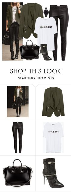 """Untitled #2534"" by fashion-nova ❤ liked on Polyvore featuring H&M, Zara, Givenchy, Giuseppe Zanotti and Olivia Burton"