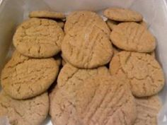 Honey Peanut Butter Cookies.  have craved peanut butter cookies for months now