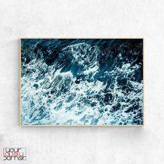 Coastal Wall Art Ocean Wave Print Ocean Photography Print | Etsy Coastal Wall Art, Beach Wall Art, Waves Photography, 3 Piece Wall Art, Water Walls, Living Water, Photo Wall Art, Map Art, Ocean Waves