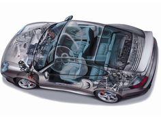 2000-2005 Porsche 911 Turbo Worldwide (996) - Illustration unattributed