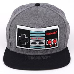 Game Console Creative Design Snapback Caps Cool Hat Adult Letter Retro Baseball  Cap Bboy Hip-hop Hats for Men Women 3 Styles cbdcfccb3276