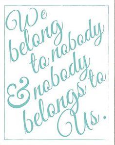 We belong to . . . | Breakfast At Tiffany's (1961)